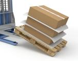 Antislip tussenlegvellen die voorkomen dat gestapelde dozen verschuiven
